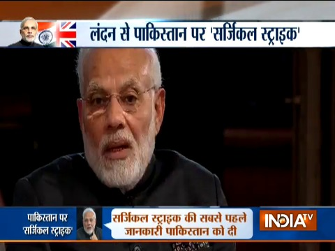 PM Modi reveals story of surgical strike on Pakistan
