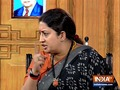 Aap Ki Adalat: Smriti Irani takes a dig at Rahul Gandhi