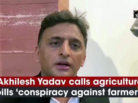 Akhilesh Yadav calls agriculture bills 'conspiracy against farmers'