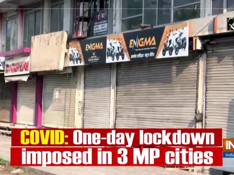 COVID: One-day lockdown imposed in 3 MP cities amid rising COVID-19 cases