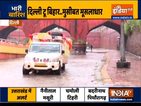 दिल्ली-एनसीआर में भारी बारिश और आंधी; मौसम विभाग ने और बारिश की भविष्यवाणी की