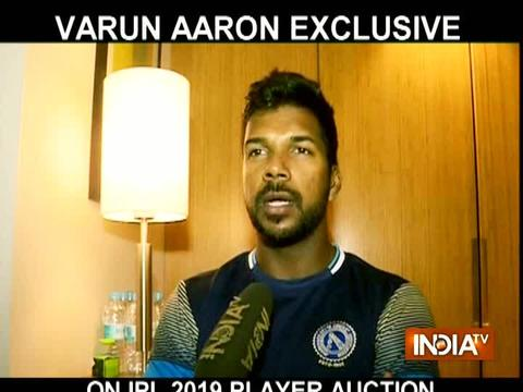 Exclusive | Varun Aaron banks on IPL 2019 performance for India return
