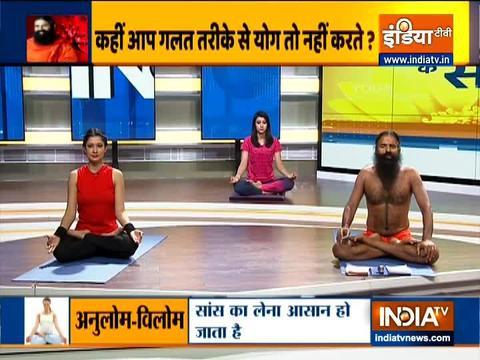 Know the right method of doing pranayama including Kapalbhati from Swami Ramdev