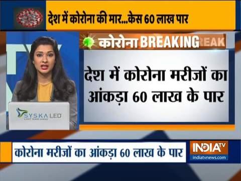 India's COVID-19 tally crosses 60-lakh mark