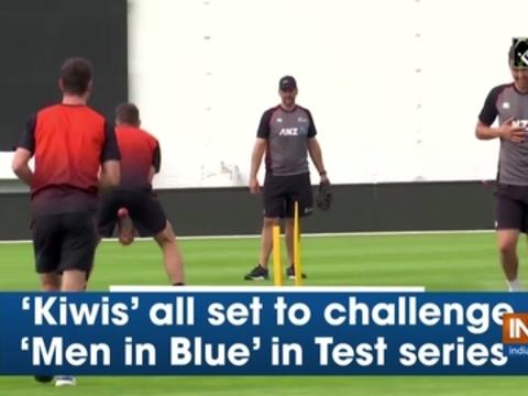 'Kiwis' all set to challenge 'Men in Blue' in Test series