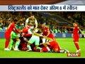 Forsberg's lone goal helps Sweden oust Switzerland, book quarterfinals berth