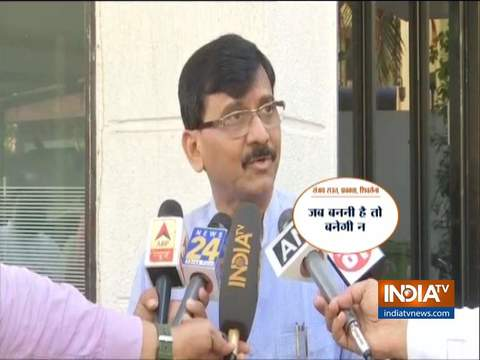Maharashtra Power Tussle: Sanjay Raut keeps silence on the question of CM from Shiv Sena