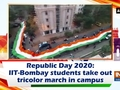 Republic Day 2020: IIT-Bombay students take out tricolor march in campus