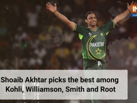Shoaib Akhtar selects the best among Kohli, Williamson, Smith and Root
