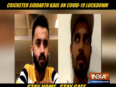 Exclusive: From dusting to washing clothes, how pacer Siddarth Kaul is spending life in COVID-19 lockdown