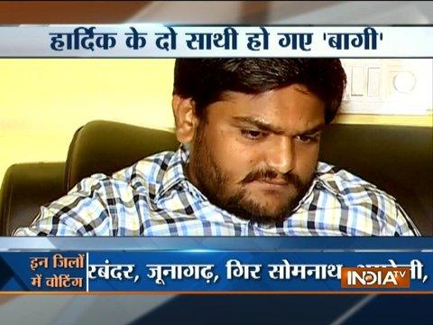 Gujarat Elections: Ahead of polling, two Patidar leaders go against Hardik Patel