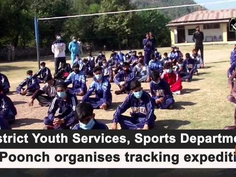 District Youth Services, Sports Department of Poonch organises tracking expedition