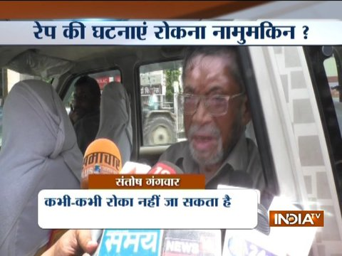BJP leader Santosh Gangwar makes a controversial statement on rape cases sparks row