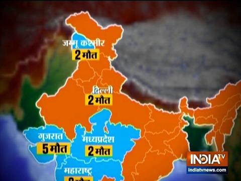 दिल्ली में 72 कोरोना वायरस पॉजिटिव मामले आए सामने, कुल संक्रमित लोगों की संख्या भारत में 1,000 से अधिक