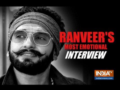 Padmaavat to Simmba: Ranveer Singh on 2018 in this emotional interview