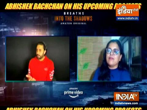 Abhishek Bachchan on his upcoming projects
