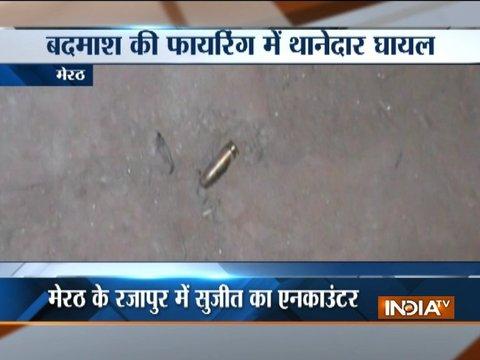 Meerut: Wanted criminal shot dead in UP
