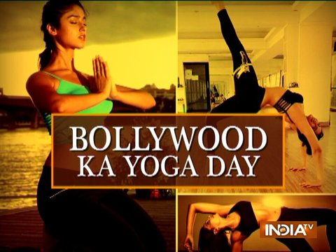 Surveen Chawla explains how Yoga enriches her life