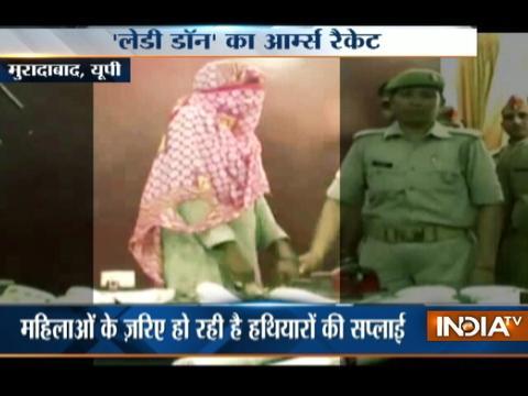 Illegal arms racket busted in Moradabad, lady dealer arrested