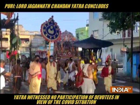 Puri: Lord Jagannath Chandan yatra concludes