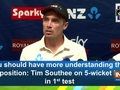 You should have more understanding than opposition: Tim Southee on 5-wicket haul in 1st test