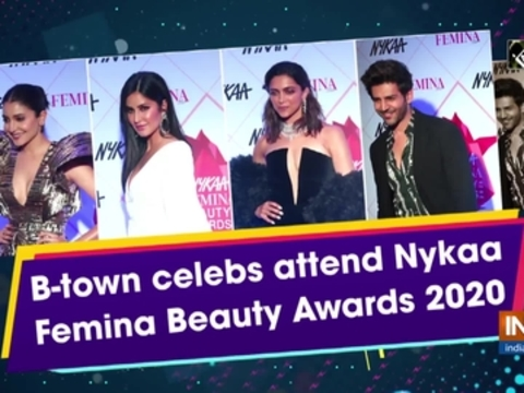 B-town celebs attend Nykaa Femina Beauty Awards 2020
