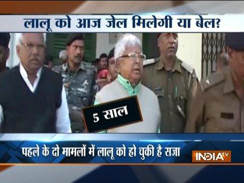 Verdict in third fodder Scam case involving Lalu Yadav today