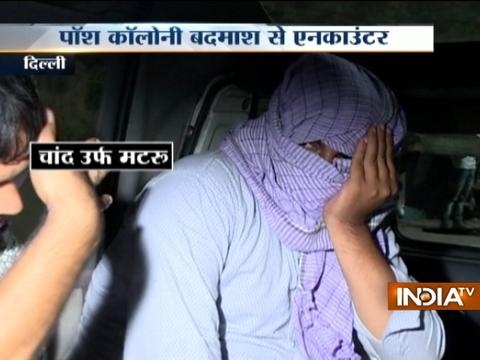 Wanted criminal arrested after shootout with police in Delhi