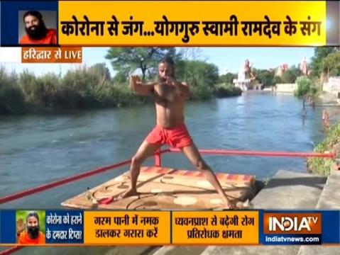 लॉकडाउन: बिना जिम जाए खुद को कर सकते हैं फिट, स्वामी रामदेव से जानें कुछ योगासन