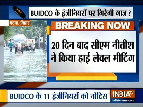 Patna flood: Bihar government issues showcause notices to 11 officials of BUIDCO
