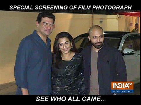 Photograph Special Screening: Sanya Malhotra, Nawazuddin Siddiqui, Vidya Balan & others attend