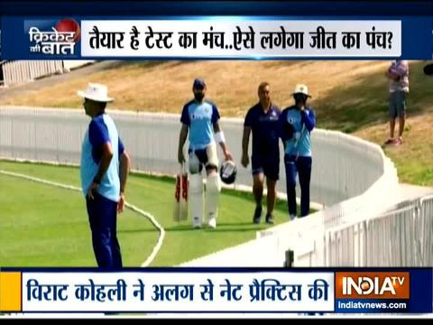 Virat Kohli misses warm-up game to practice in nets for New Zealand Test series
