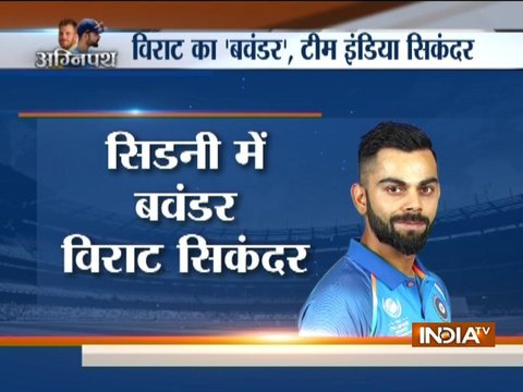 3rd T20I: Clinical India sink Australia by 6 wickets, draw series 1-1