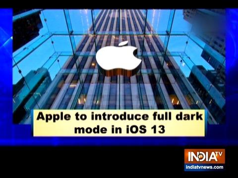 Apple to introduce full dark mode in iOS 13