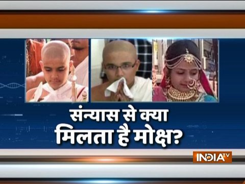 Surat-based family to become Jain monk