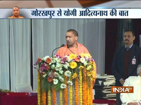 UP CM Adityanath slams opposition for maligning Gorkhapur Mahotsav