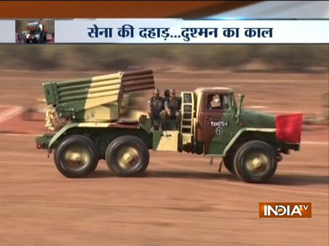 India TV's special report on Fire power of artillery guns demonstrated at Nashik
