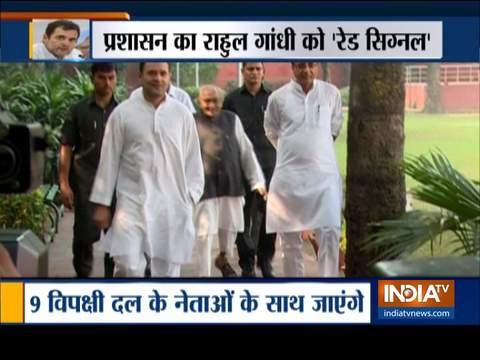 राहुल गांधी आज श्रीनगर जाएंगे; प्रशासन ने कहा- न आएं घाटी