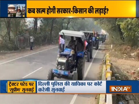 Farmer unions adamant on Republic Day tractor parade; SC hearing today