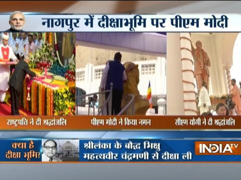 President, PM Modi, and CM Adityanath pays tribute to Ambedkar on 126th birth anniversary