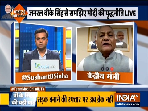 Modi govt has brought about a great change in the country, says Gen. VK Singh