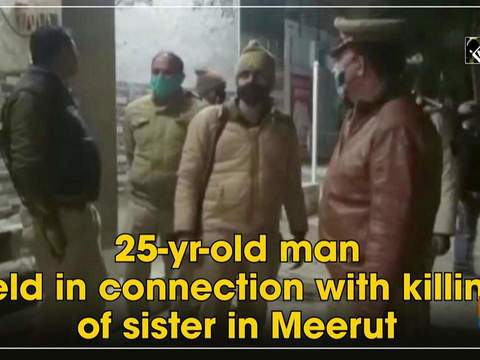 25-yr-old man held in connection with killing of sister in Meerut