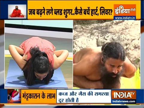 Swami Ramdev shares yoga asanas to keep blood-sugar level in control