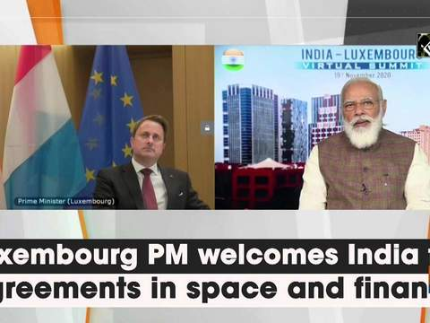 Luxembourg PM welcomes India for agreements in space and finance