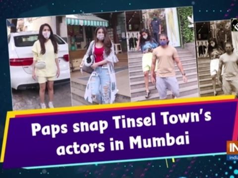 Paps snap Tinsel Town's actors in Mumbai