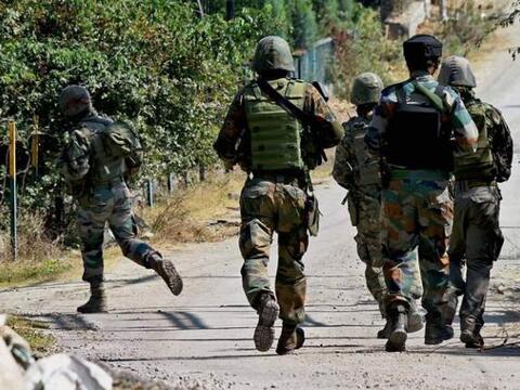 Jammu & Kashmir: Encounter breaks out in Srinagar, Two terrorists killed