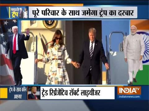 भारत यात्रा के दौरान अमेरिकी राष्ट्रपति के साथ मेलानिया और इवांका ट्रम्प के साथ रहने की संभावना