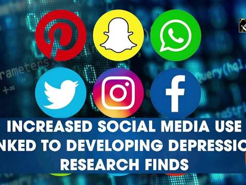 Increased social media use linked to developing depression, research finds
