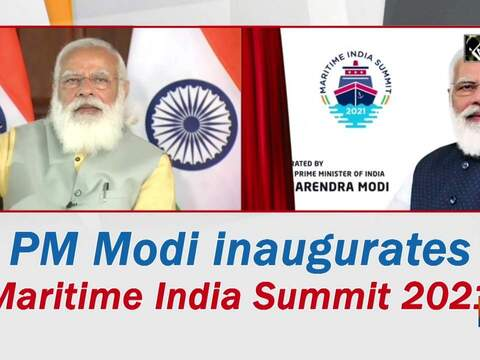 PM Modi inaugurates Maritime India Summit 2021