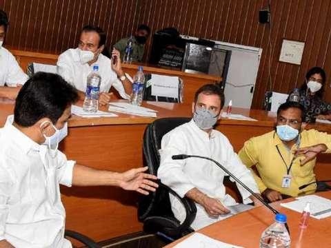 I don't like the language he used: Rahul Gandhi on Kamal Nath's item remark